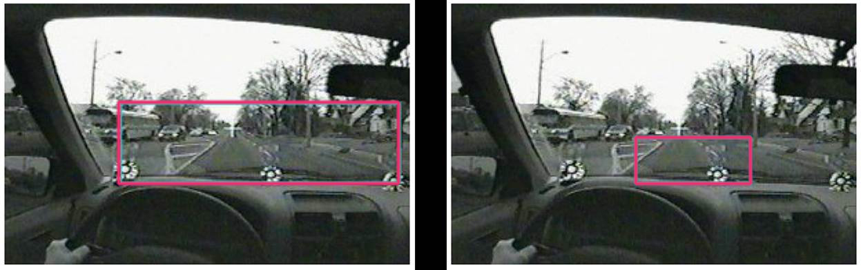 Using a cell phone significantly narrows a drivers field of vision
