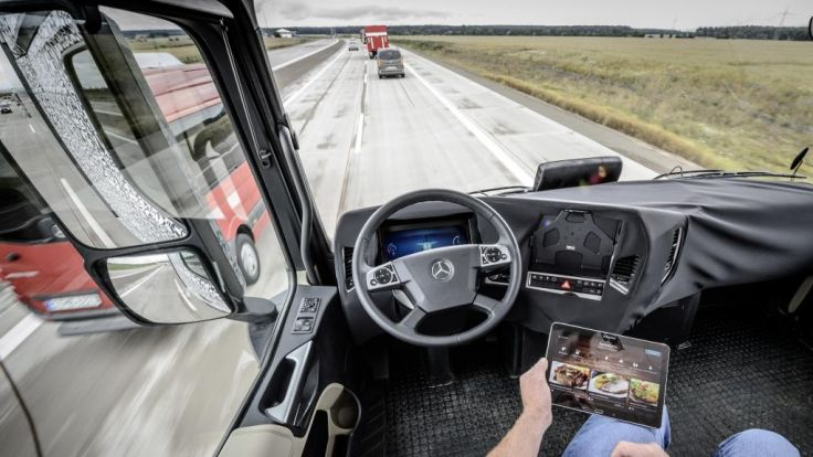 Trucking Alliance Backs Move for Safer Trucks Through Autonomous Driving Technology